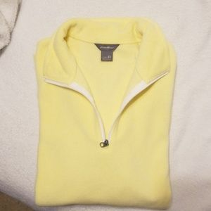 Half - Zip Eddie Bauer Outlet Long Sleeve Fleece